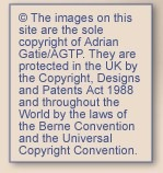 Copyright notice Adrian Gatie Theatre Photographs